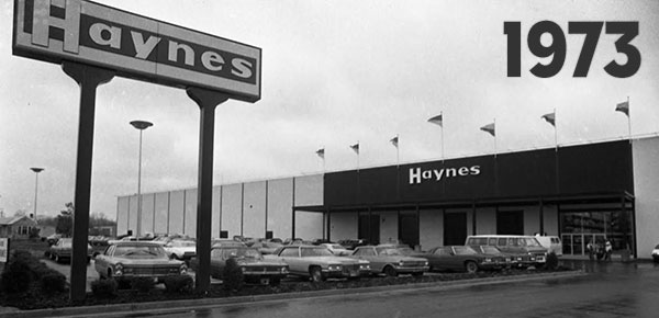 Haynes Furniture Virginia Beach Store 1973