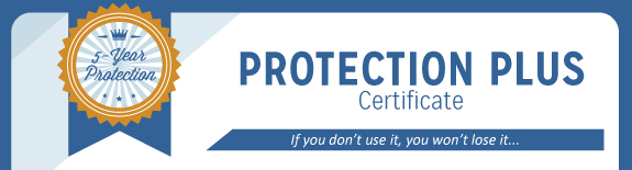 Protection Plus Certificate