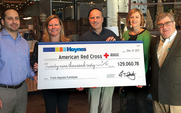 Haynes Donation - American Red Cross