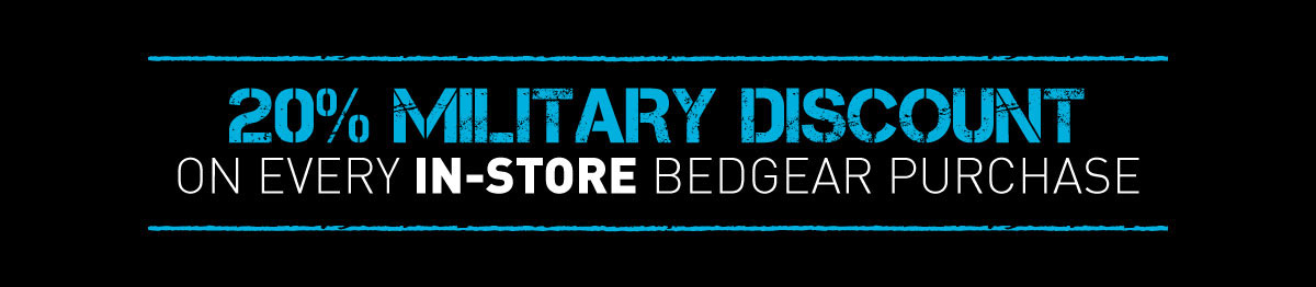 20% Military Discount on Every In-Store Bedgear Purchase