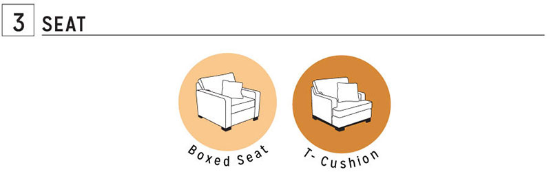 Custom Furniture Seat Styles