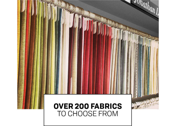 Custom Furniture - Over 200 Upholstery Fabrics