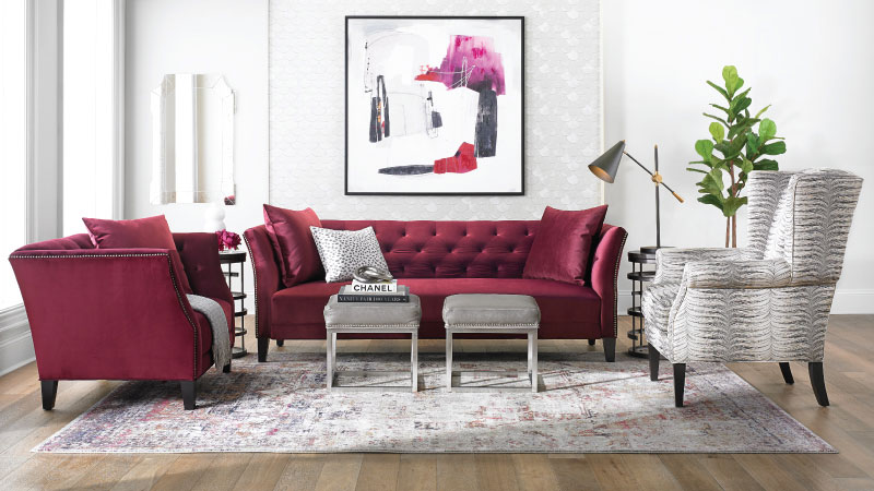Velvetique Layla Traditional Sofa
