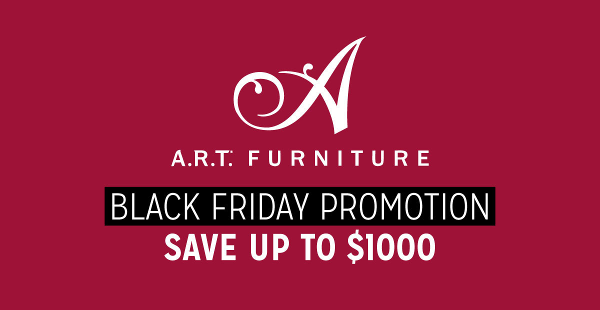 ART Furniture Black Friday Promotion Save up to $1000