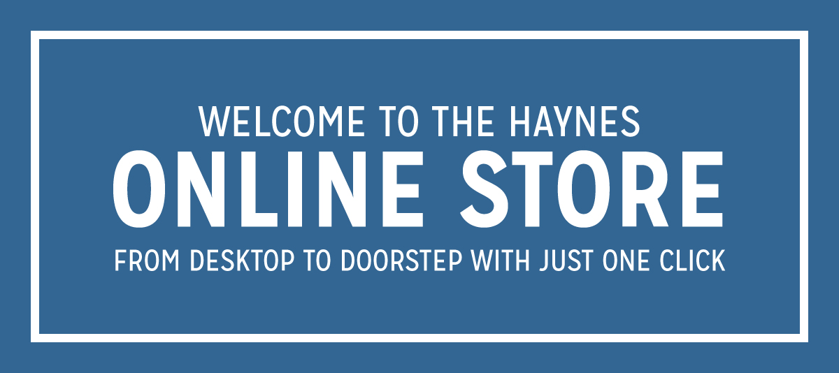 Welcome to the Haynes Online Store