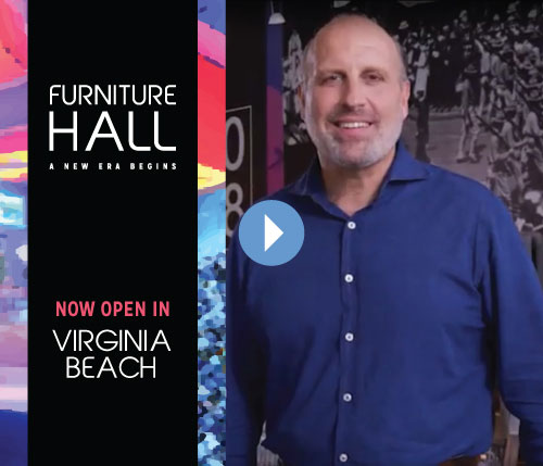 Furniture Hall Now Open in Virginia Beach