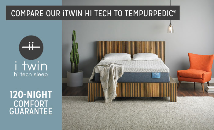 iTwin 120-Night Comfort Guarantee