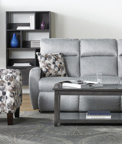 Infinite Motion Grey Sofa
