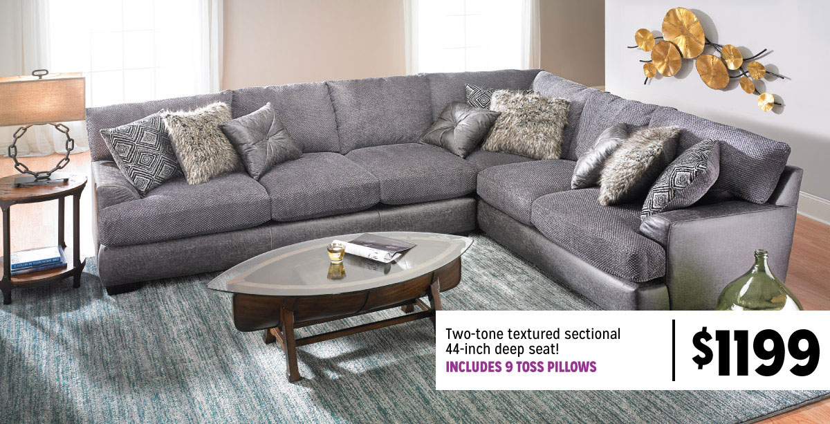 Two Tone Sectional