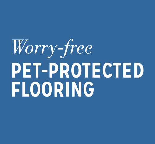 Worry-free Pet-Protected Flooring