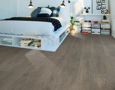 RevWood Laminate Flooring in Bedroom