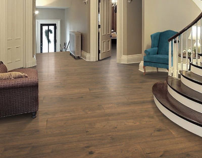RevWood Laminate Flooring in an Entry Way