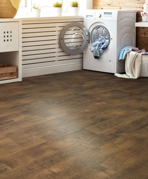 RevWood Flooring in the Laundry Room