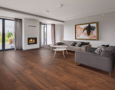 RevWood Laminate Flooring in Living Room