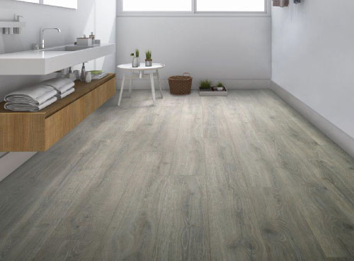 RevWood Flooring in the Wash Room