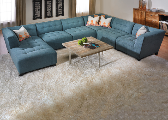 Belaire Tufted Contemporary Modular Sectional