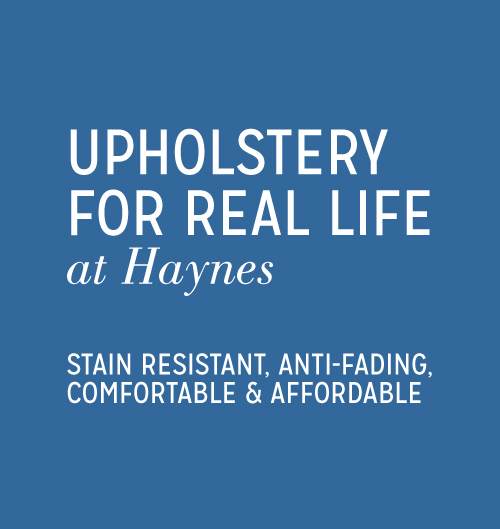 Upholstery for Real Life at Haynes
