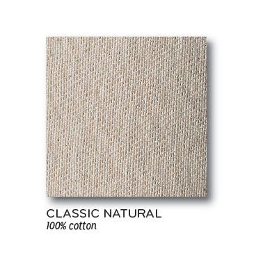 Classic Natural 100% Cotton