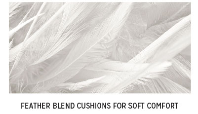 Feather Blend Cushions for Soft Comfort