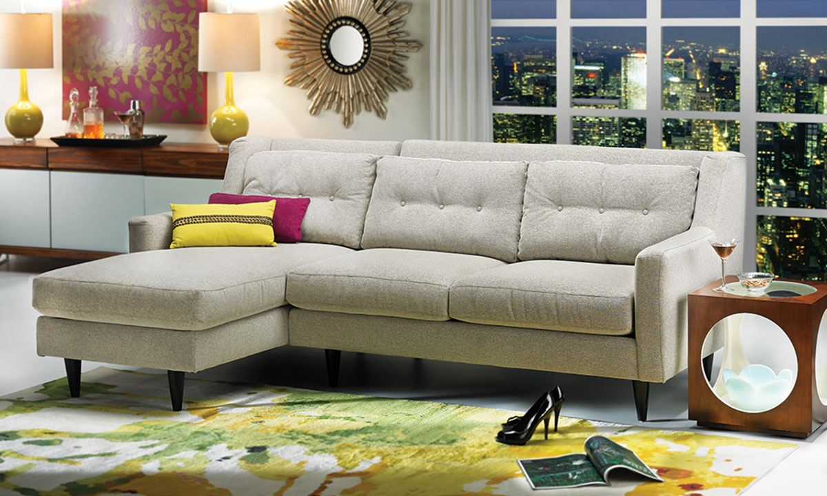 Picture of Del Rey Chaise Sectional Sofa : furniture stores sectionals - Sectionals, Sofas & Couches
