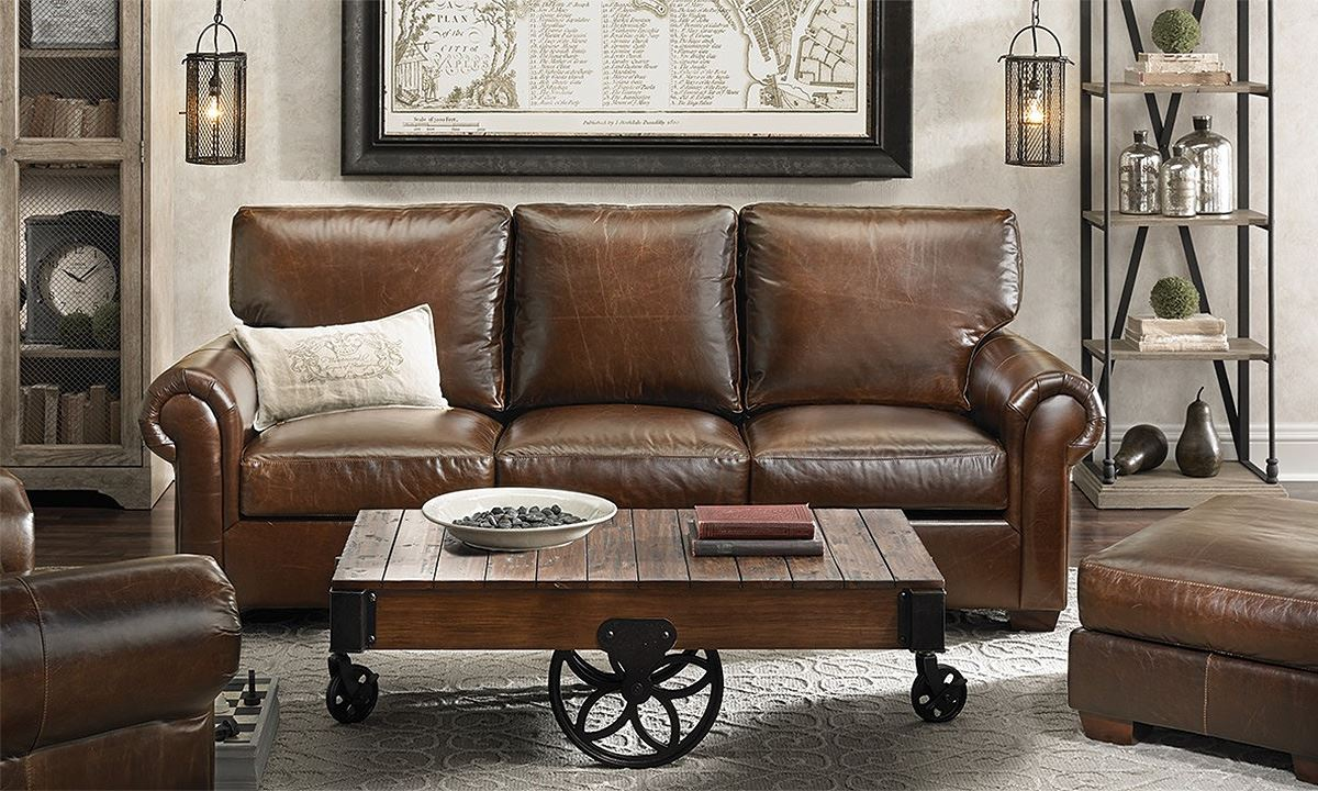 Brompton Leather Sofa The Dump Beautiful Sectional Sofas