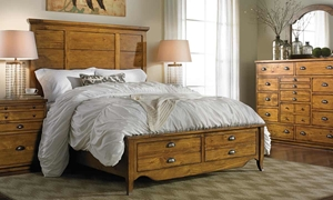 Picture of Knotty Pine Queen Storage Bedroom
