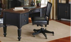 Picture of Ravenwood Half Pedestal Desk