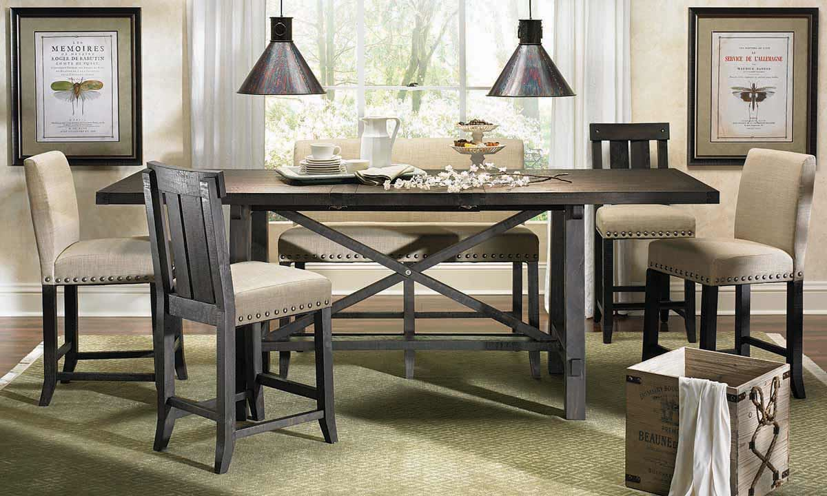 Haynes Furniture Yosemite Counter Height Dining Set