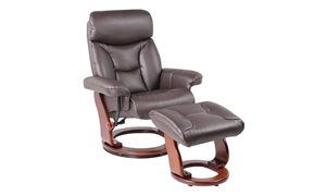 Benchmaster Emmie Java Stress-Free Recliner & Ottoman