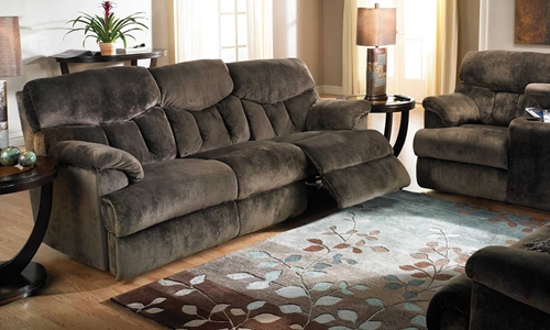 Picture of Chocolate Dual Reclining Sofa