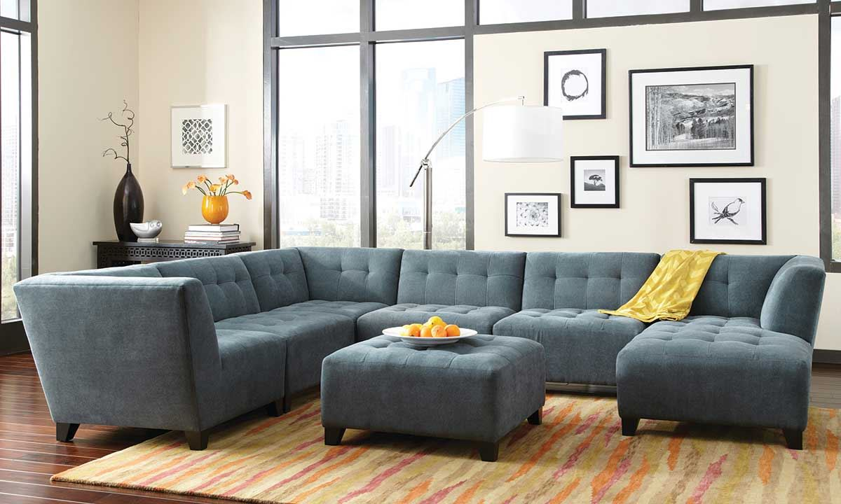 Picture Of Belaire Sectional Sofa Picture Of Belaire Sectional Sofa ...