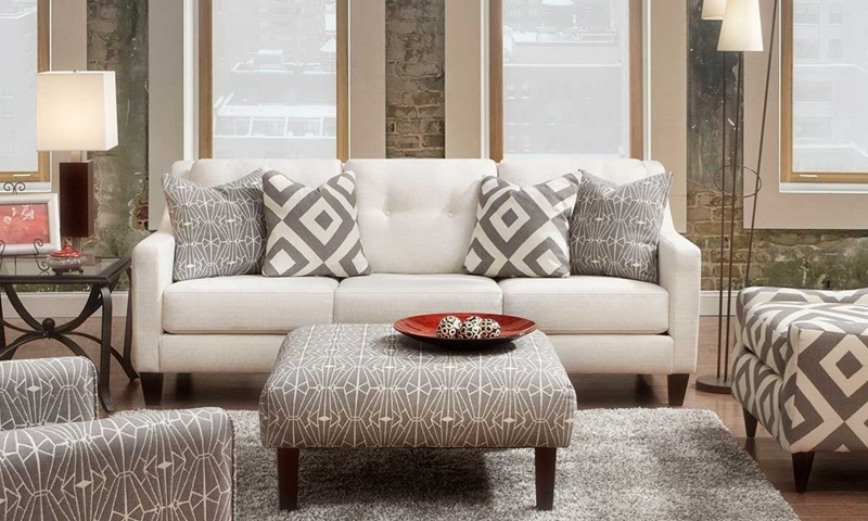 Picture of Sugarshack Tufted Track Arm Sofa