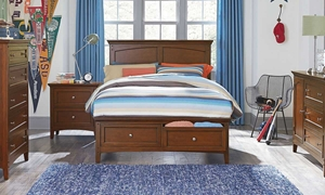 Picture of Cooperstown Cherry Twin Bed