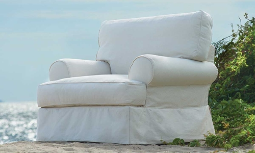 Picture of Two Lanes: Dock Landing Arm Chair