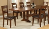 Picture of Iron Strap Solid Mango Dining Set