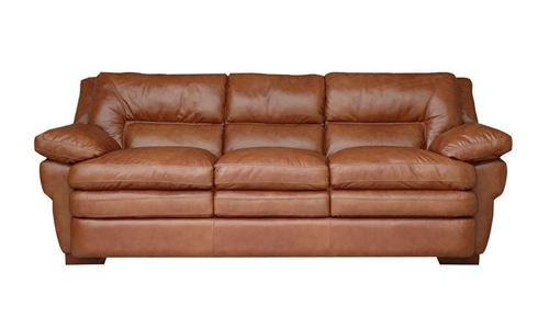 Picture of Couture Oak Leather Sofa