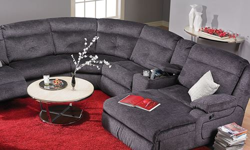 Picture of Draco Reclining Sectional Sofa