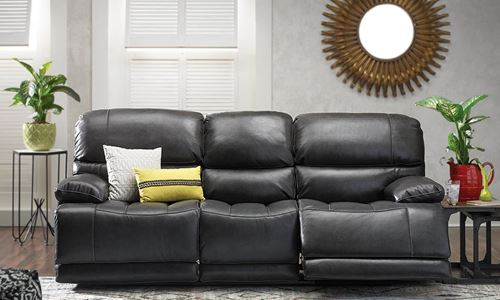 Picture of Theodore Power Reclining Leather Sofa