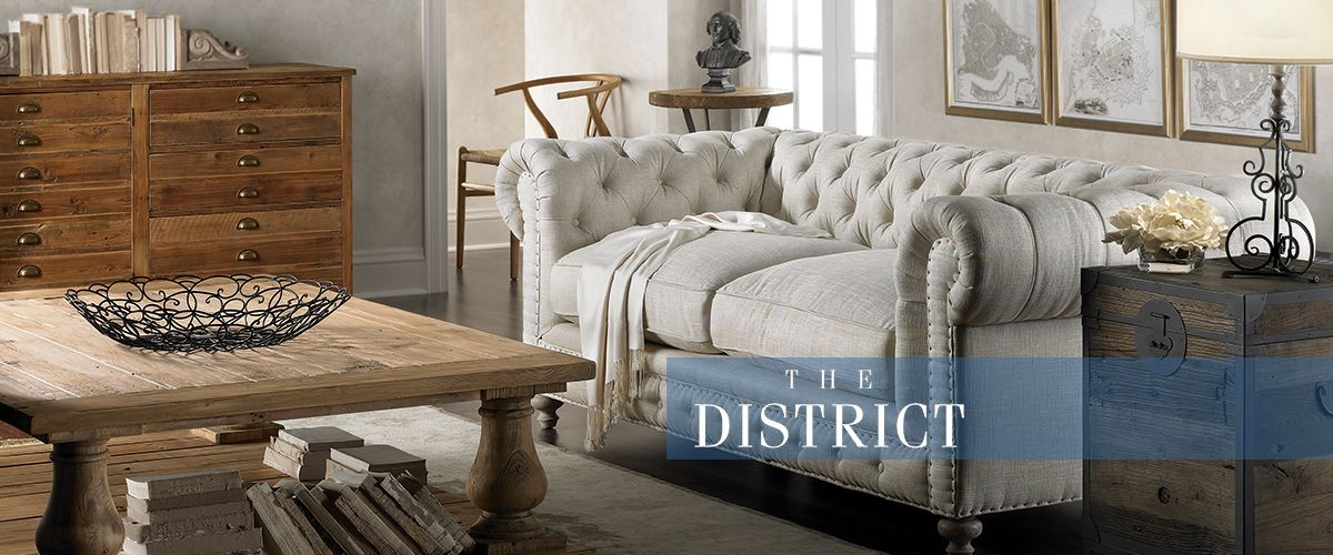 The District Living Room Furniture