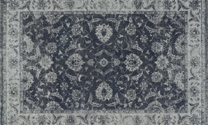 Picture of Geneva Collection: Steel Blue 5x8 Rug