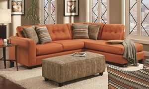Picture of Fandango Flame Sectional Sofa
