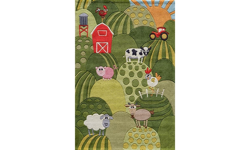 Picture of Lil' Mo Collection: Farmland 5x7 Rug