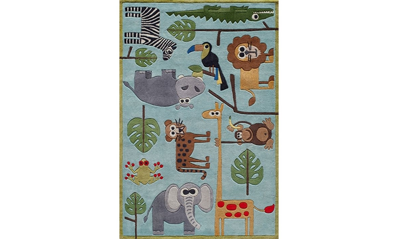 Picture of Lil' Mo Collection: Safari 5x7 Rug
