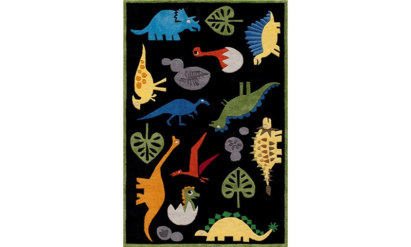 Picture of Lil' Mo Collection: Dinosaur 5x7 Rug