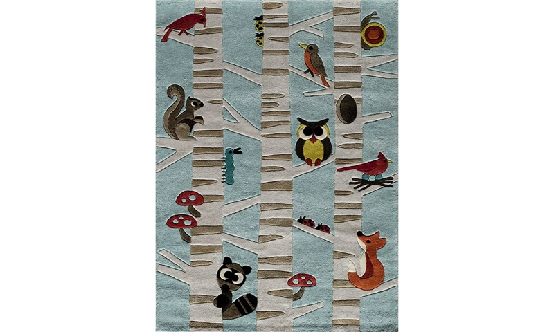 Picture of Lil' Mo Collection: Woodlands 5x7 Rug