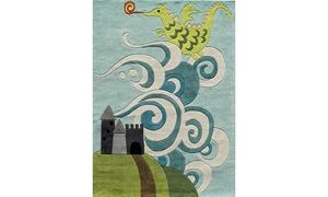 Picture of Lil' Mo Collection: Dragon 5x7 Rug