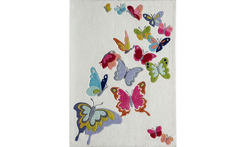Picture of Lil' Mo Collection: Butterfly 5x7 Rug