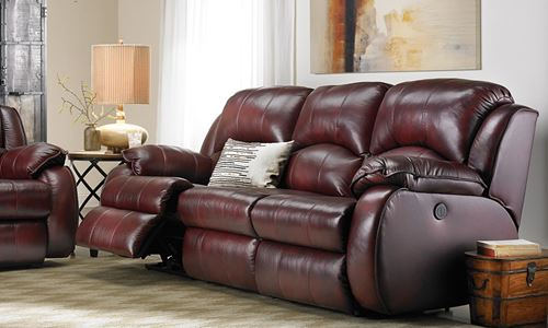 Picture of Voltaic Leather Power Reclining Sofa
