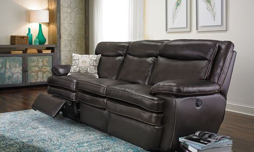 Picture of Venice Chocolate Power Reclining Sofa