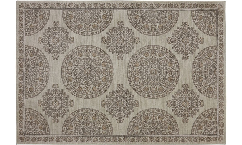 Picture of Karastan Pacifica Collection Olympia Beige 5x8 Rug